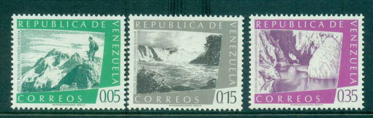 Venezuela 1960 Views (no Airs)MLH Lot46869