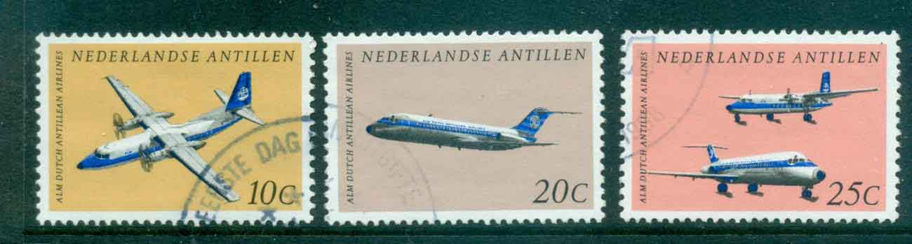 Netherlands Antilles 1968 Dutch Antillean Airlines FU Lot47093