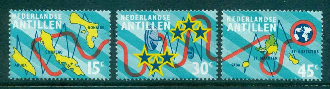 Netherlands Antilles 1973 Submarine Cable FU Lot47094