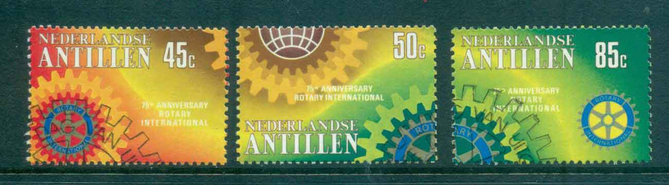 Netherlands Antilles 1980 Rotary Intl. FU Lot47095