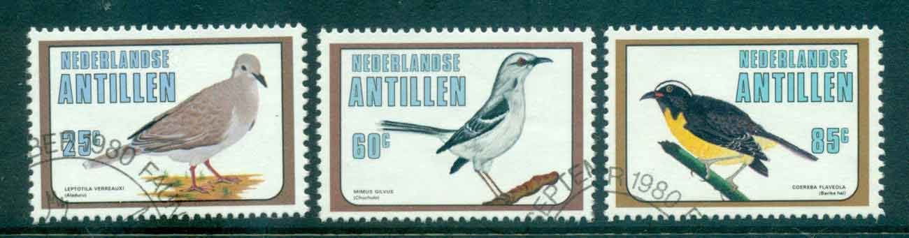 Netherlands Antilles 1980 Birds FU Lot47096