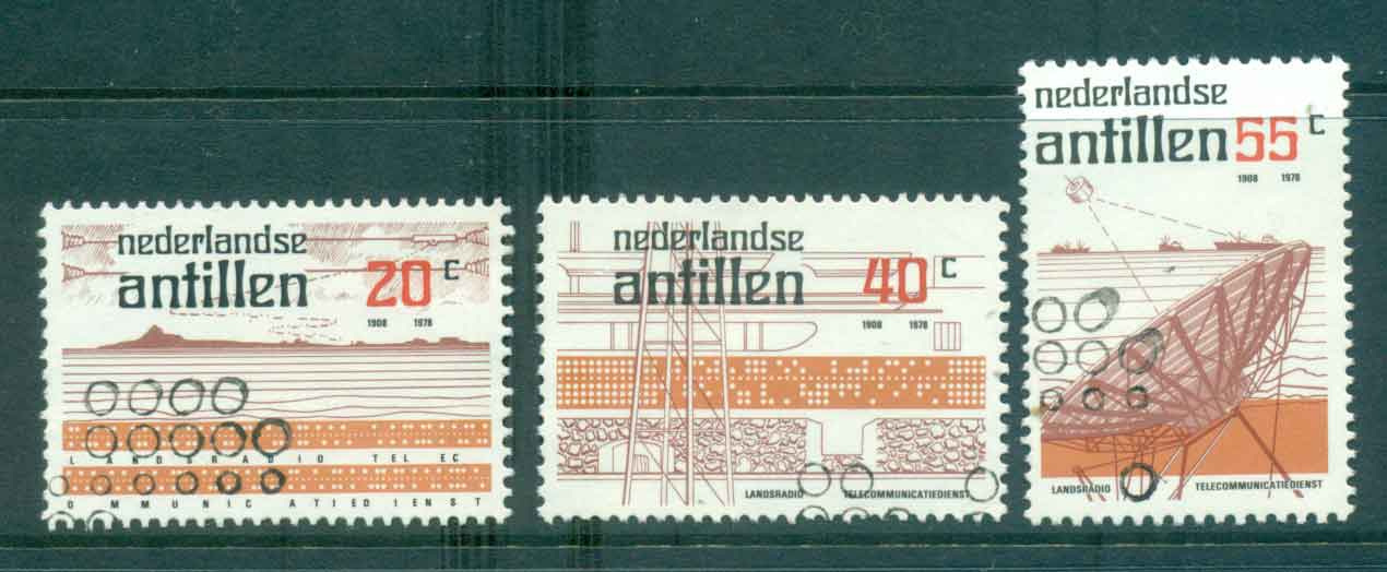 Netherlands Antilles 1978 Ship to Shore Communications FU Lot47102