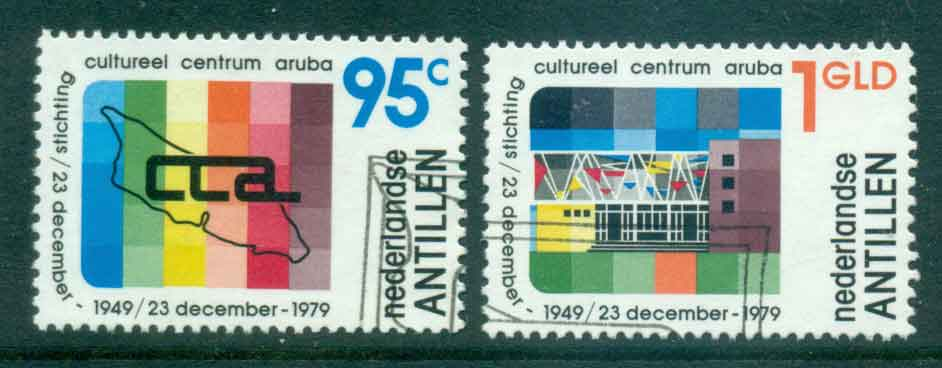 Netherlands Antilles 1979 Cultural Foundation Centre FU Lot47103