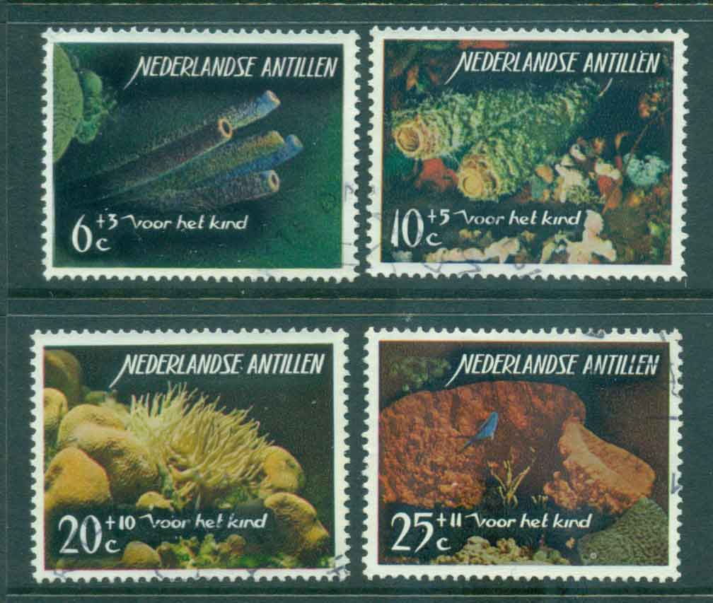 Netherlands Antilles 1965 Corals FU Lot47106
