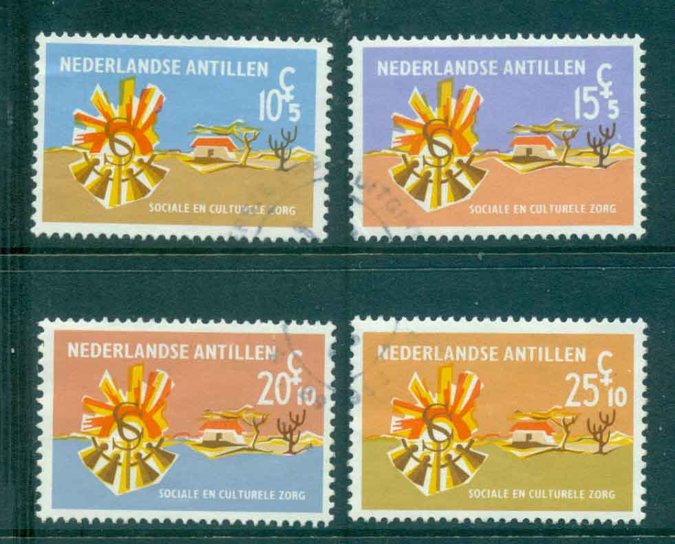 Netherlands Antilles 1965 Social & Cultural Institutions FU Lot47107