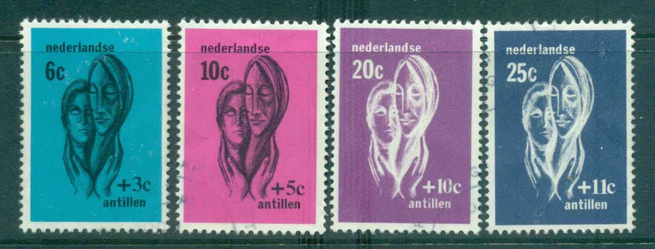 Netherlands Antilles 1967 Social & Cultural Institutions FU Lot47110