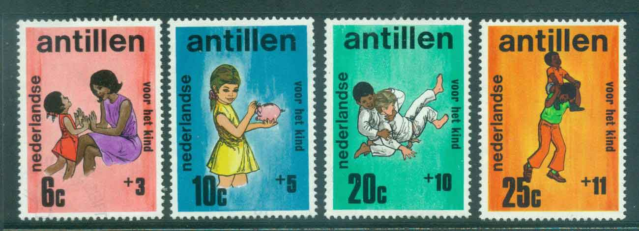 Netherlands Antilles 1970 Child Welfare Children FU Lot47111