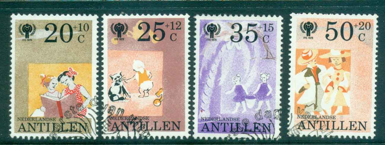 Netherlands Antilles 1979 Child Welfare IYC FU Lot47112