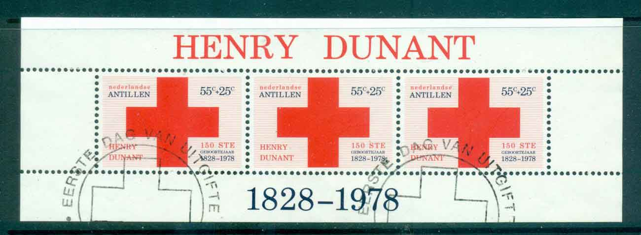 Netherlands Antilles 1978 Red Cross MS FU Lot47117