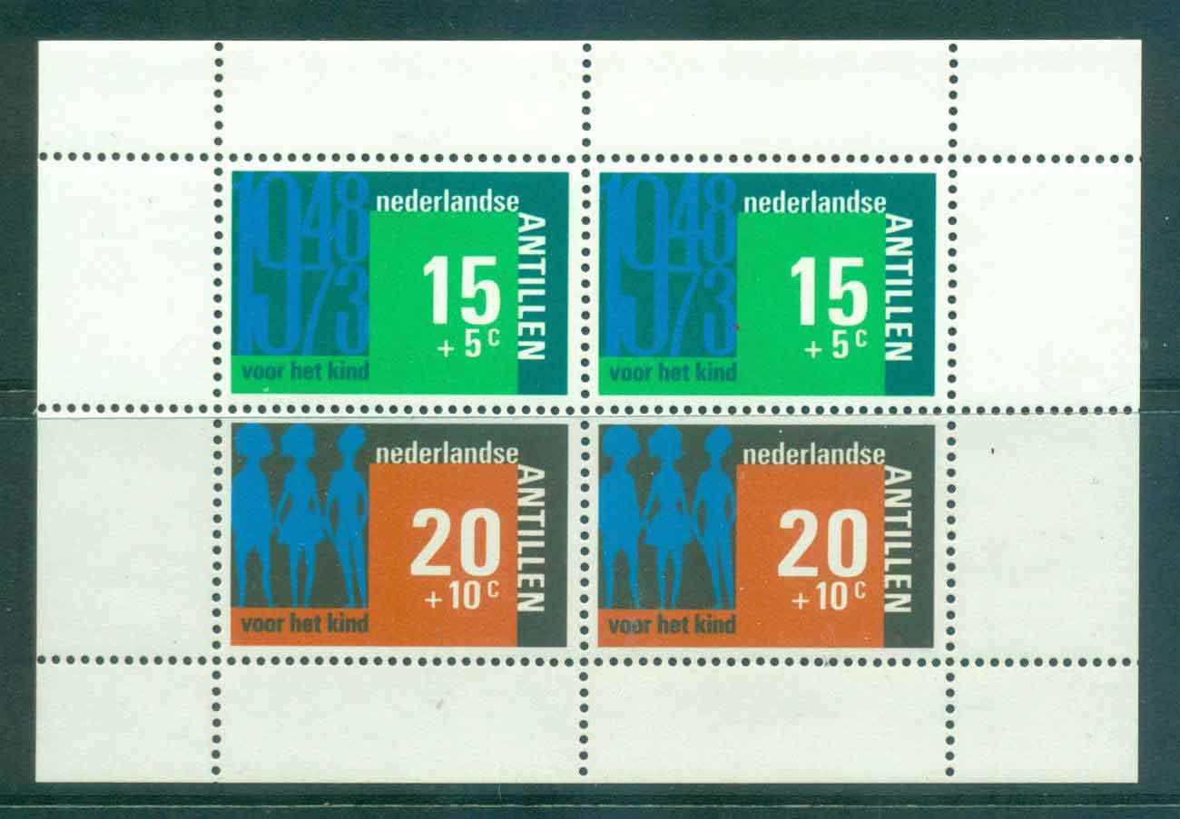 Netherlands Antilles 1973 Child Welfare MS MUH Lot47122
