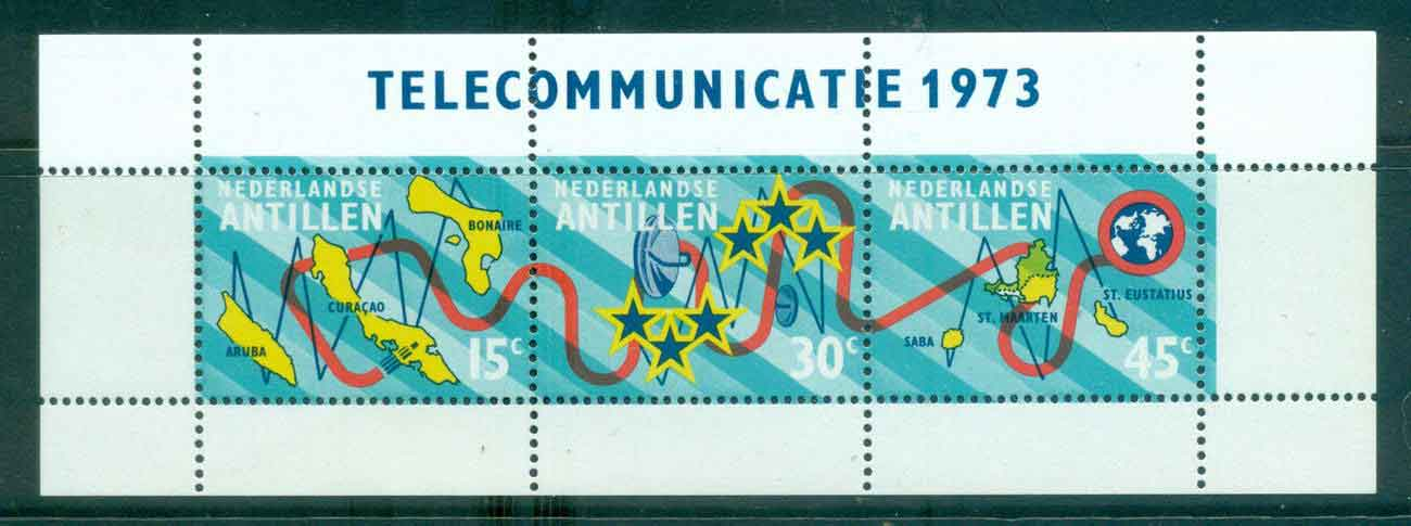 Netherlands Antilles 1973 Submarine Cable MS MUH Lot47123