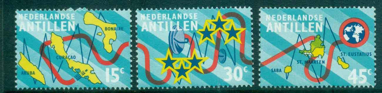 Netherlands Antilles 1973 Submarine Cable MUH Lot47125
