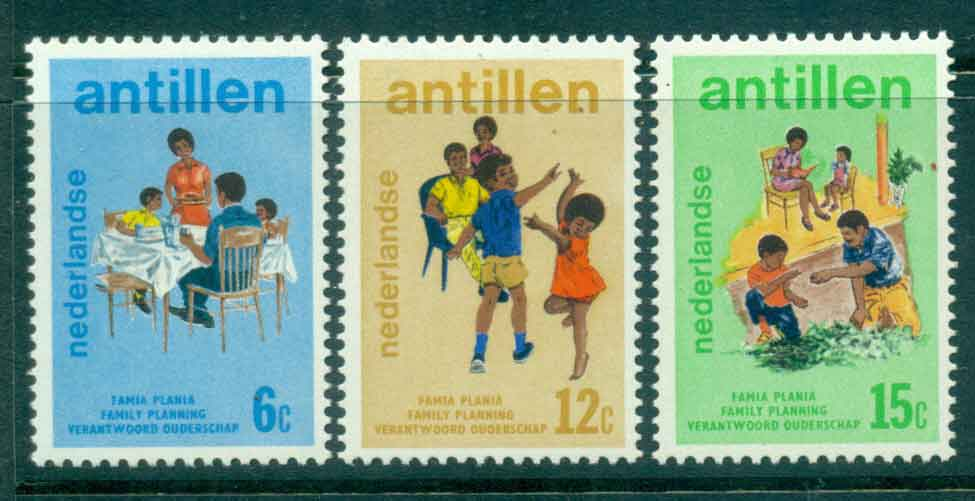 Netherlands Antilles 1974 Planned parenthood MUH Lot47133