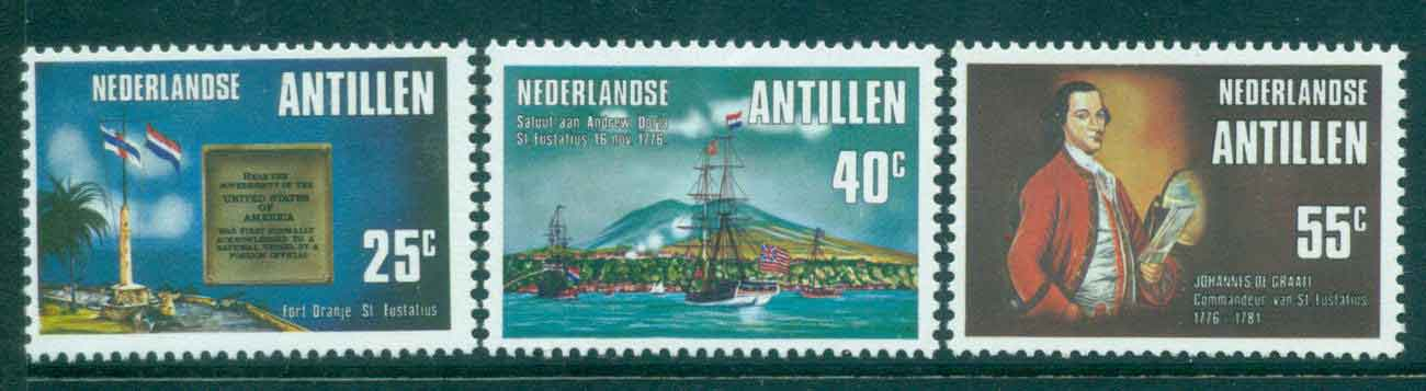 Netherlands Antilles 1976 Salute to US Flag MUH Lot47142