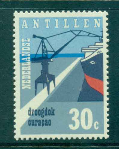 Netherlands Antilles 1972 Dry Dock facilities MUH Lot47164