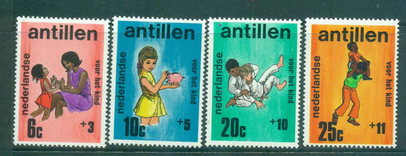 Netherlands Antilles 1970 Child Welfare, Mother & Child MUH Lot47182