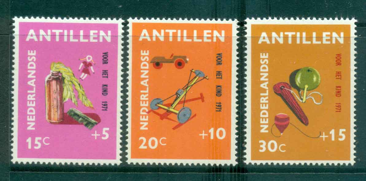 Netherlands Antilles 1971 Child Welfare, Toys MUH Lot47183