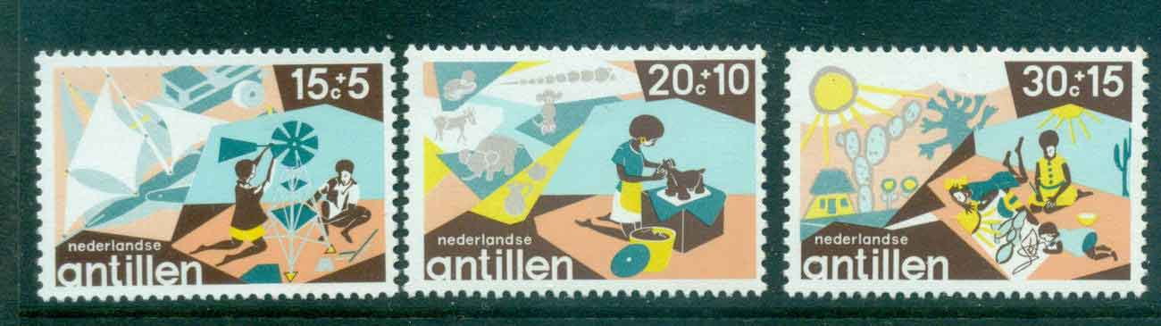 Netherlands Antilles 1975 Child Welfare MUH Lot47189