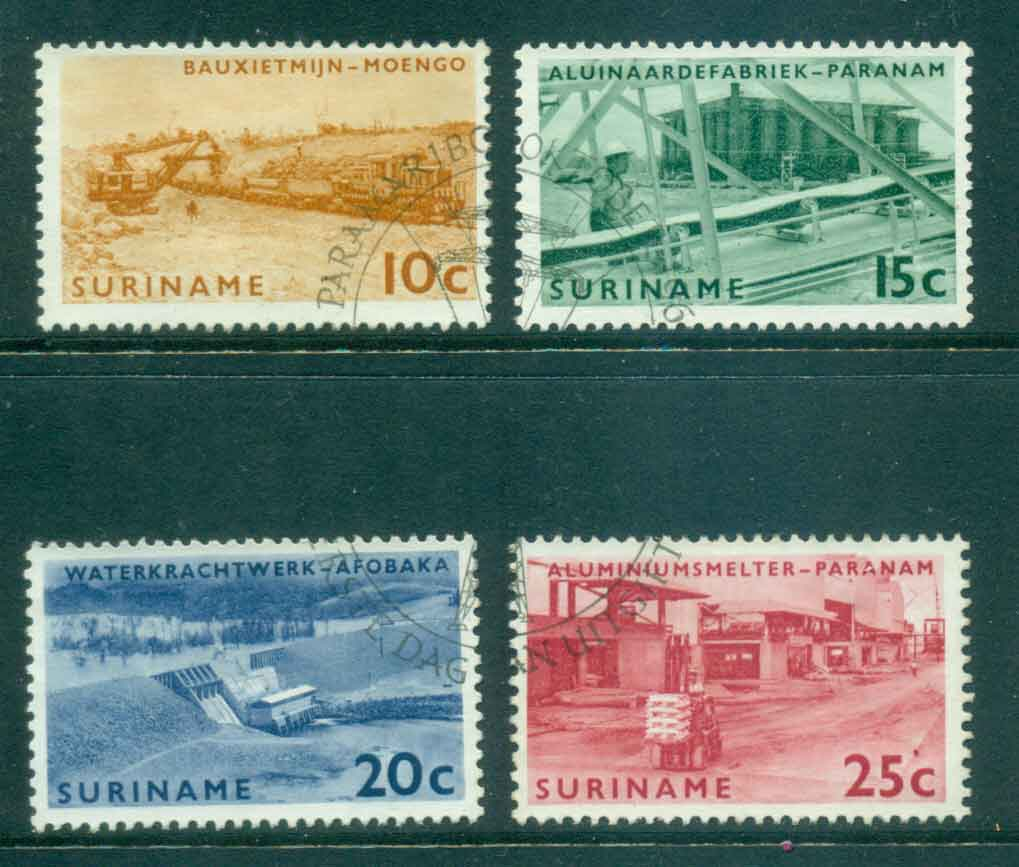 Surinam 1965 Borokopondo Power Station FU Lot47193