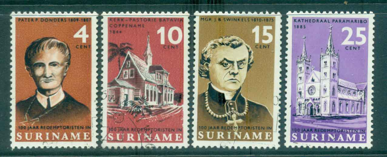 Surinam 1966 Redemptorist Mission FU Lot47196