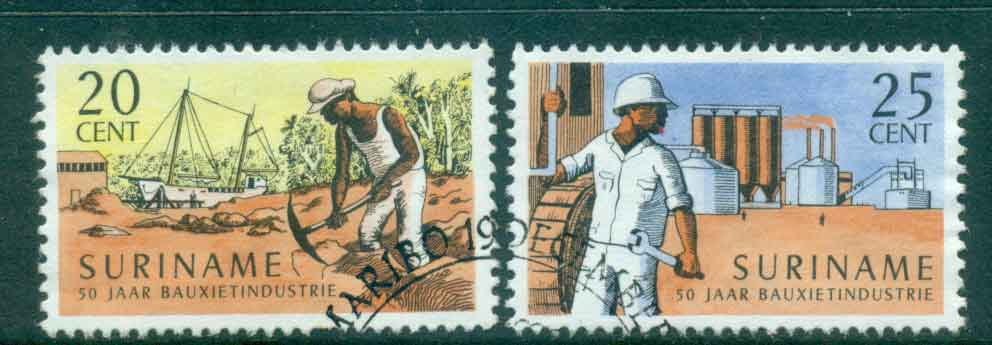Surinam 1966 Bauxite Industry FU Lot47199
