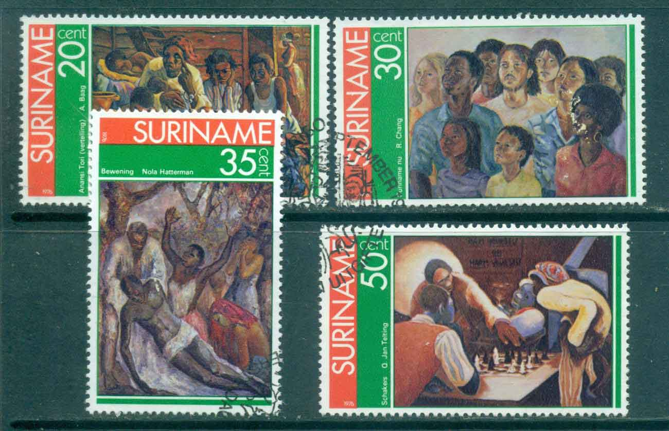 Surinam 1976 Paintings by Surinam Artists FU Lot47205