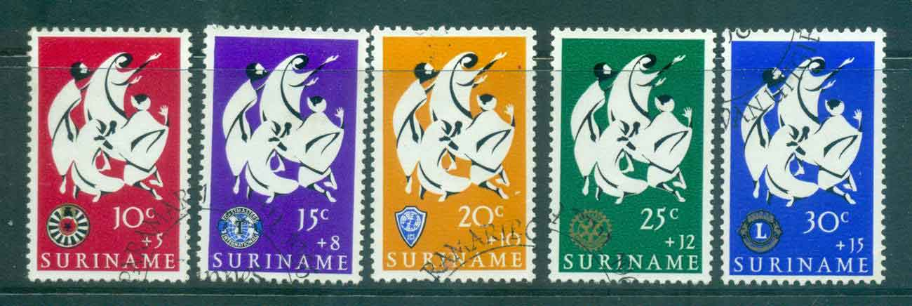 Surinam 1966 Easter Charities FU Lot47216