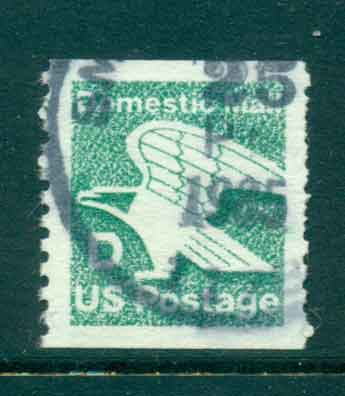 USA 1985 Sc#2112 (22c) D Eagle Coil FU lot47310