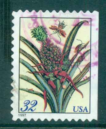 USA 1997 Sc#3127 Botanical Print FU lot48353