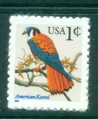 USA 2000 Sc#3031A 1c American kestrel Die cut 11.25 MUH lot48822
