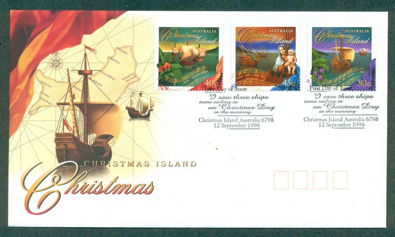 Christmas Is 1996 Xmas FDC lot48963