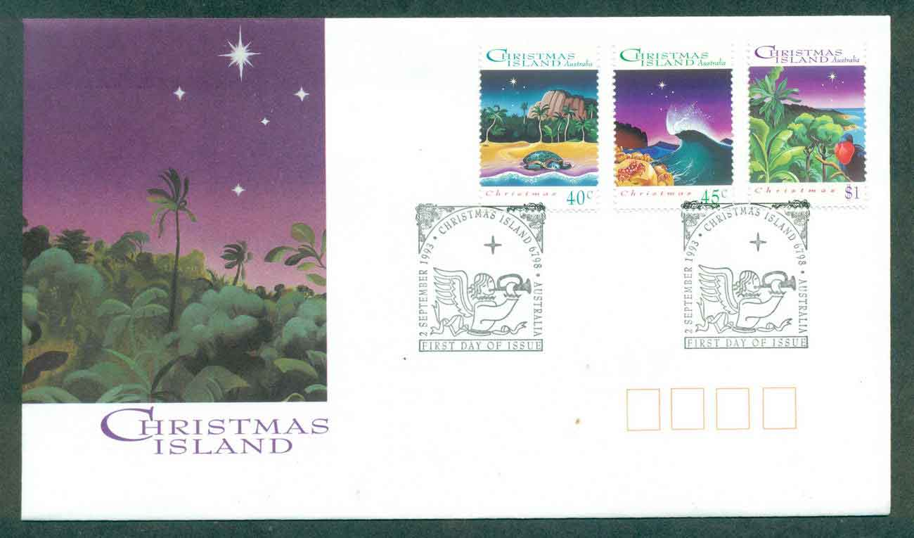 Christmas Is 1993 Xmas FDC lot48972