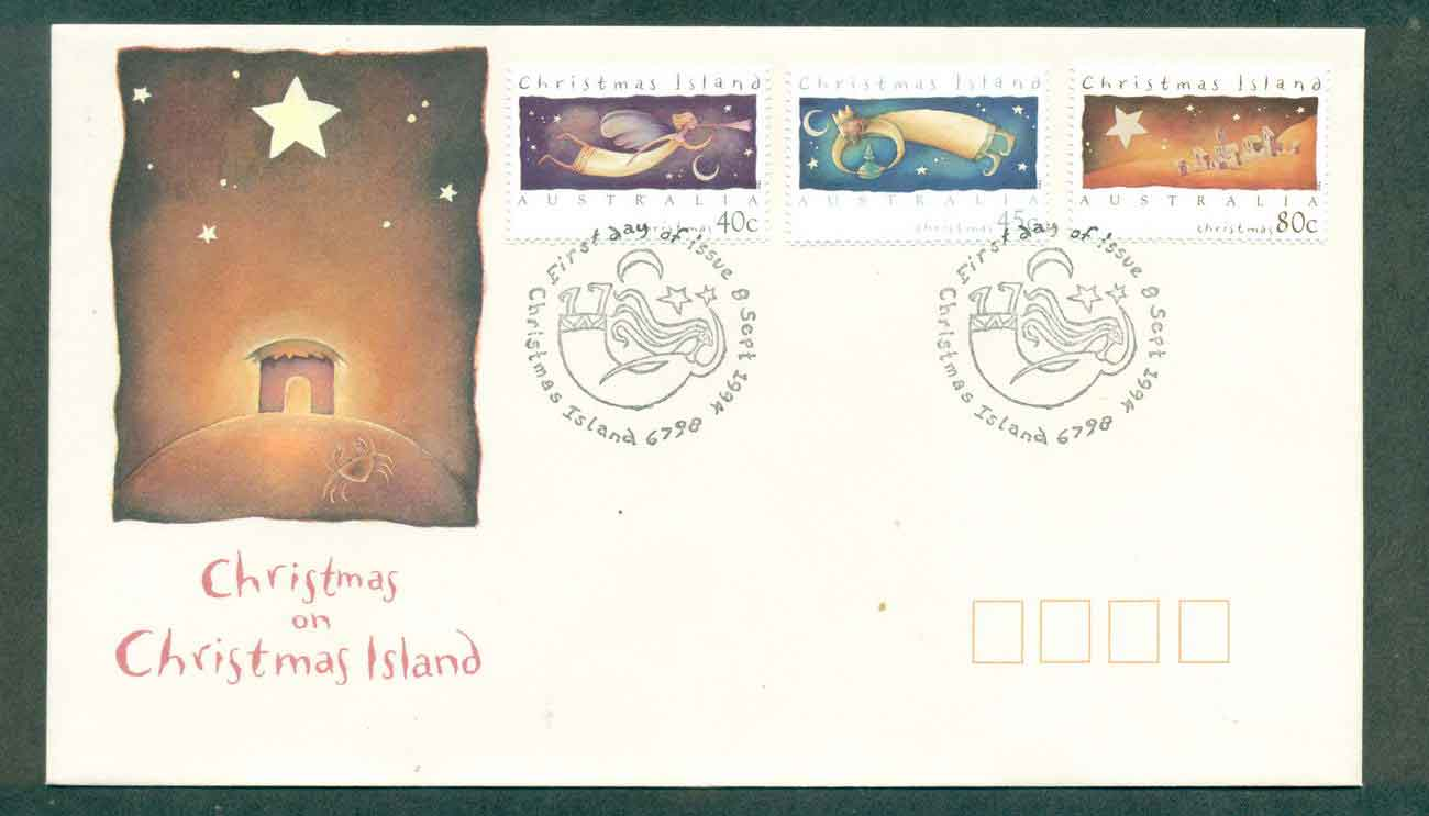 Christmas Is 1994 Xmas FDC lot48974