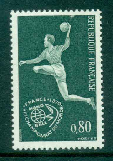 France 1970 Field Ball games MUH lot49335