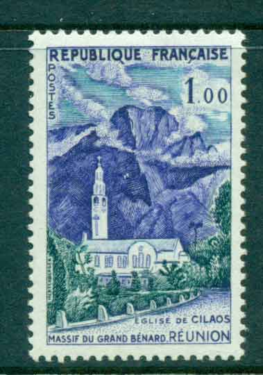 France 1960 1f Cilaos Church, Reunion MUH lot49349