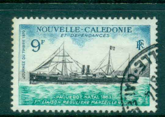 New Caledonia 1970 Packet Ship Natal FU Lot49698