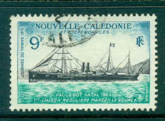 New Caledonia 1970 Packet Ship Natal FU Lot49700