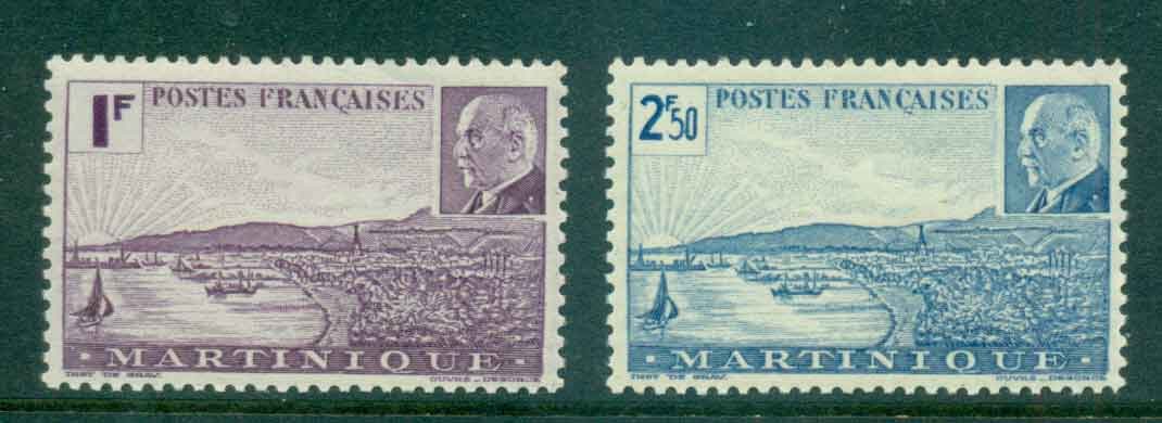 Martinique 1944 Petain MUH Lot49788