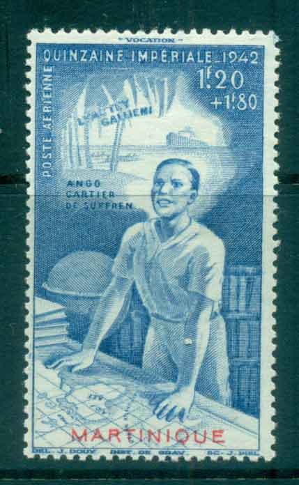 Martinique 1942 Colonial Education Fund MUH Lot49814