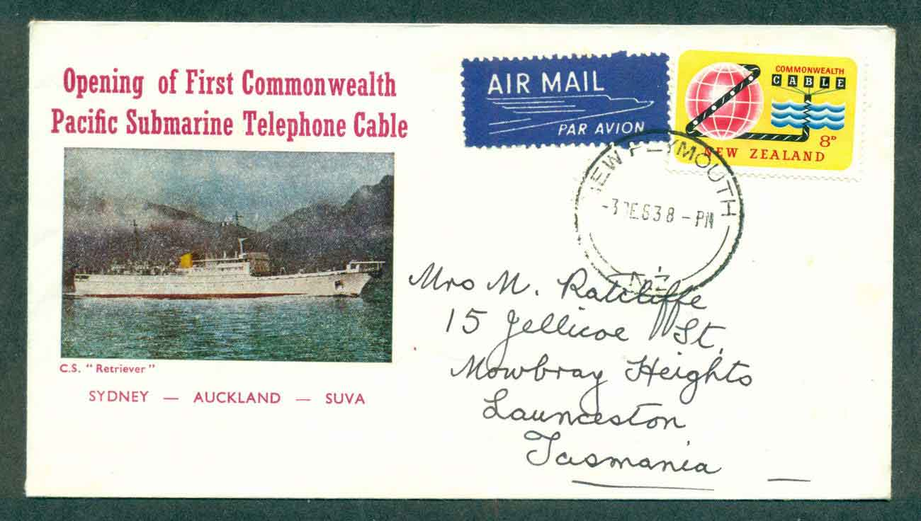 New Zealand 1963 Commonwealth Submarine Cable FDC lot50448