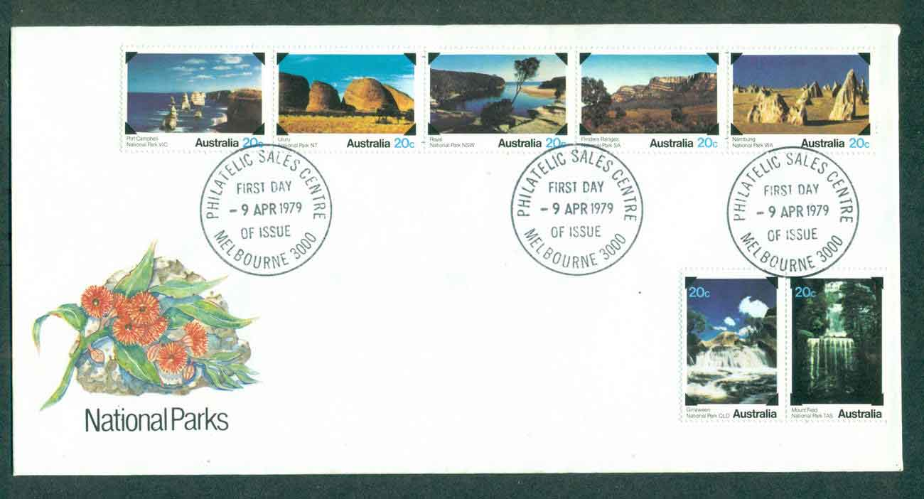 Australia 1979 National parks, Melbourne FDC lot50819