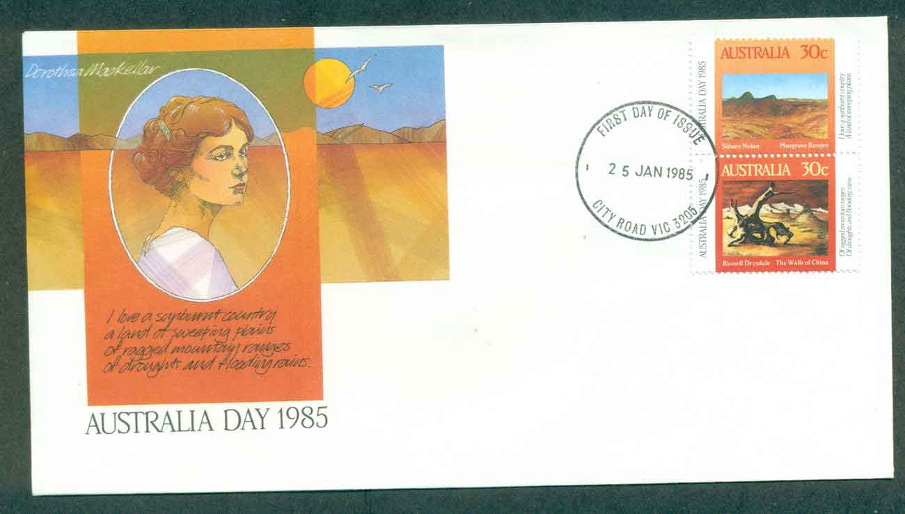 Australia 1985 Australia day, City Rd FDC lot50902