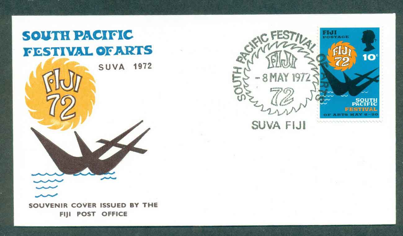 Fiji 1972 Pacific Festival FDC lot51395