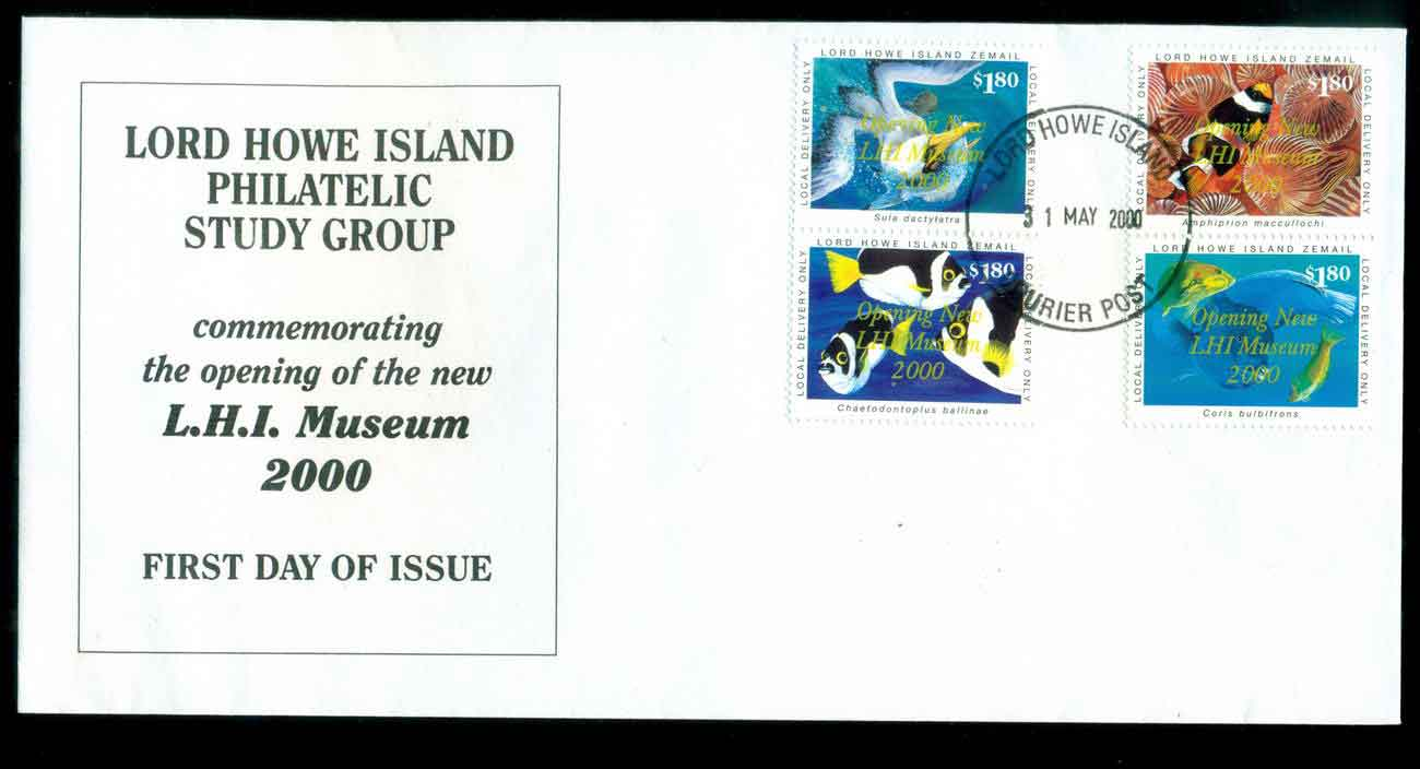 Lord Howe Island 2000 Museum Opening FDC lot51530