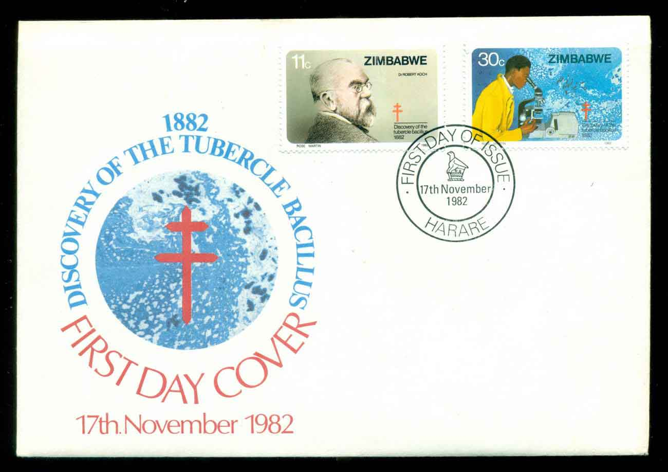 Zimbabwe 1982 Anti TB FDC lot51729