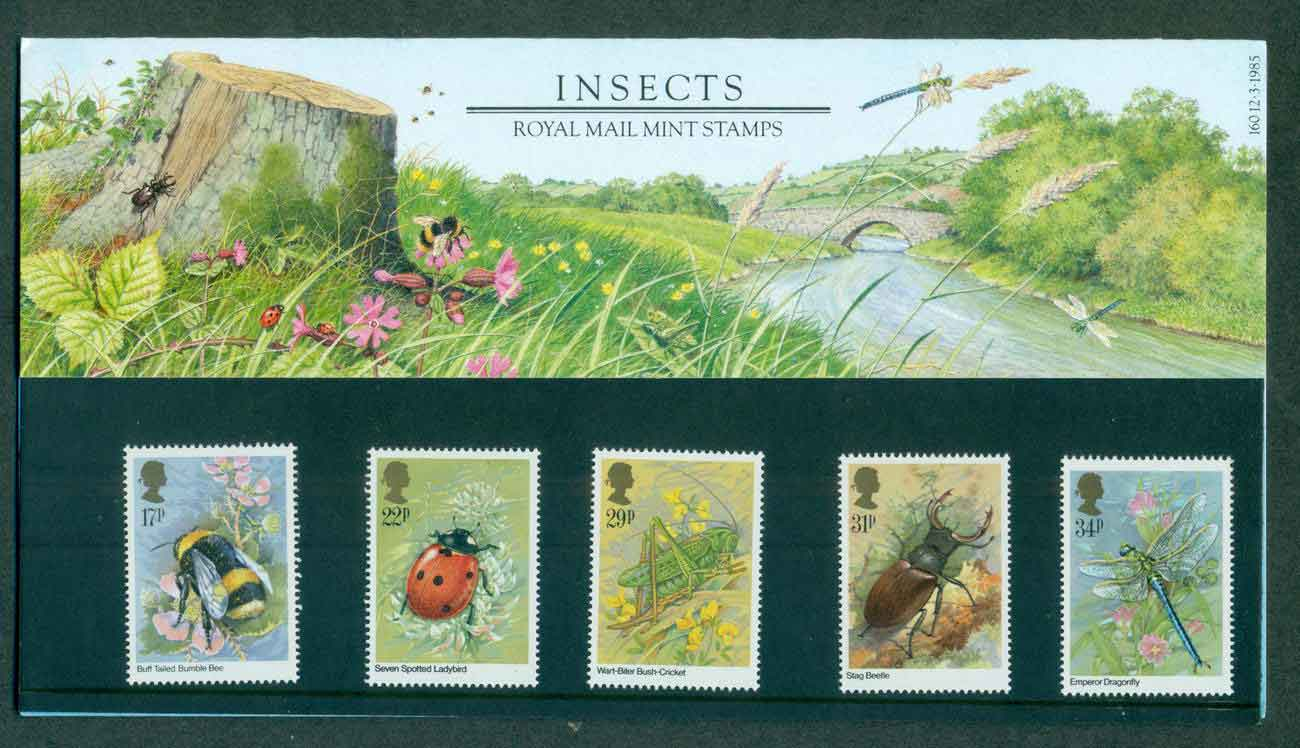 GB 1985 Insects POP lot51731