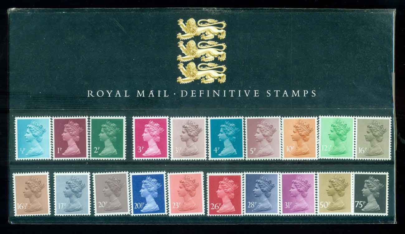 GB 1984 Machin �p-75p definitive Pk0 (mount mark on reverse)POP lot51740