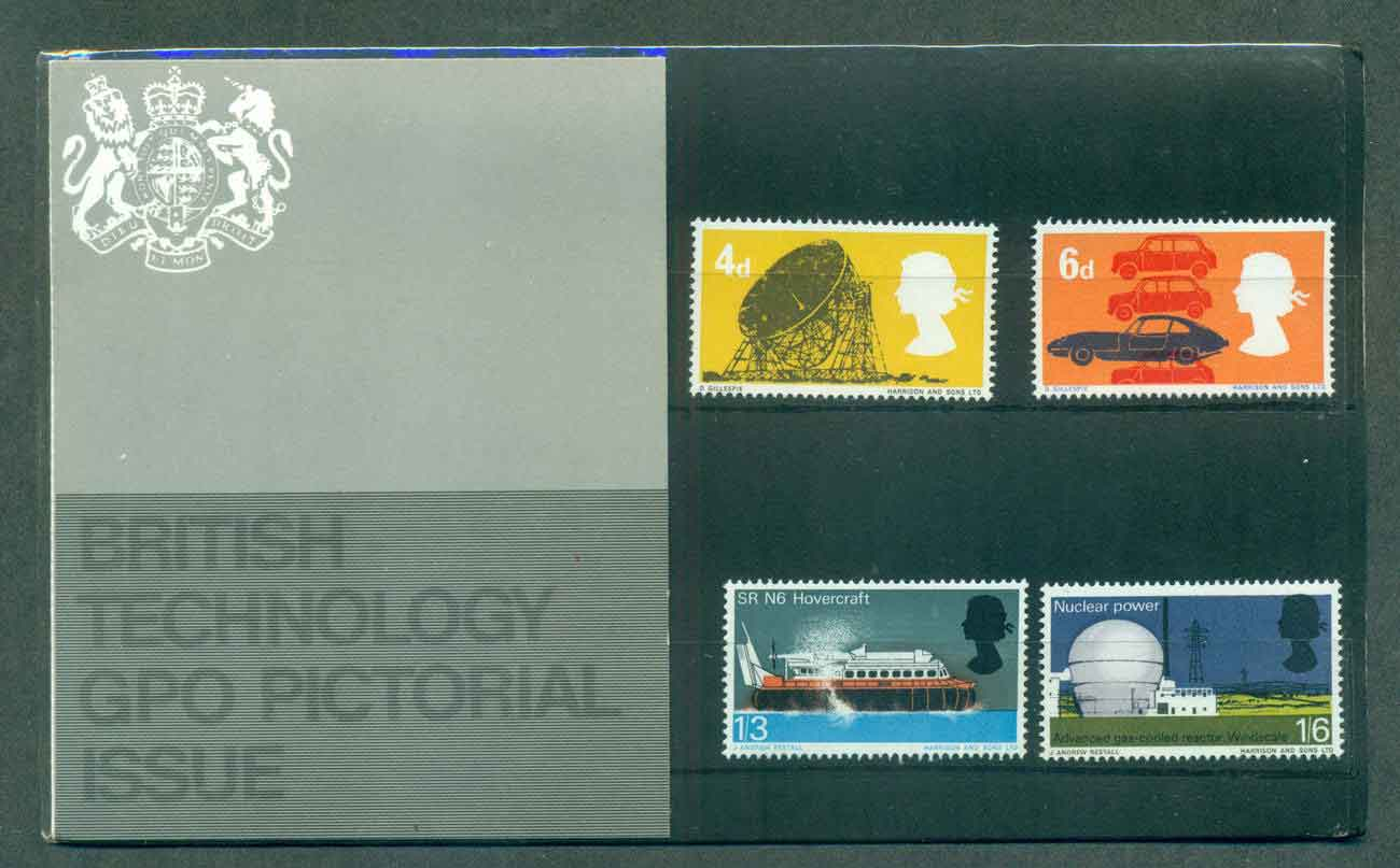 GB 1966 Science & Technology POP lot51741