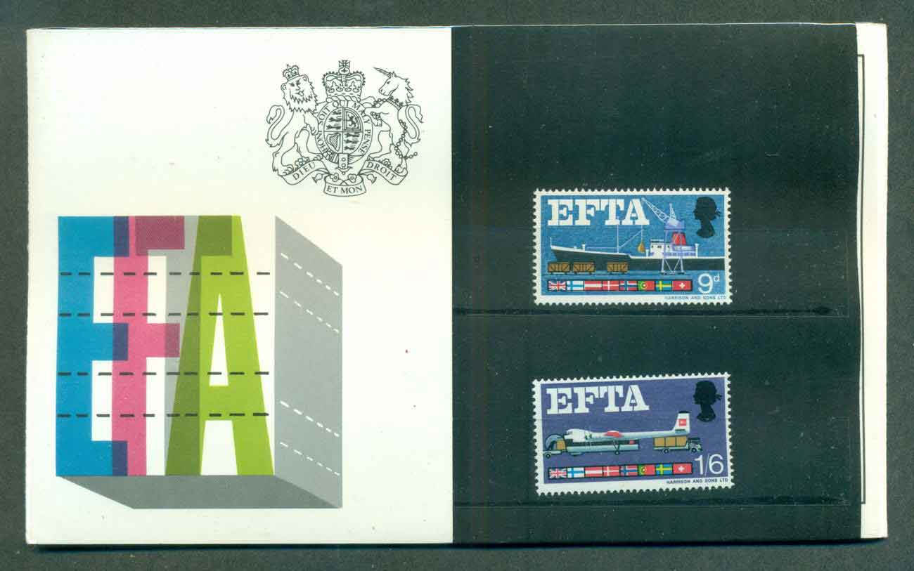 GB 1967 EFTA POP lot51743