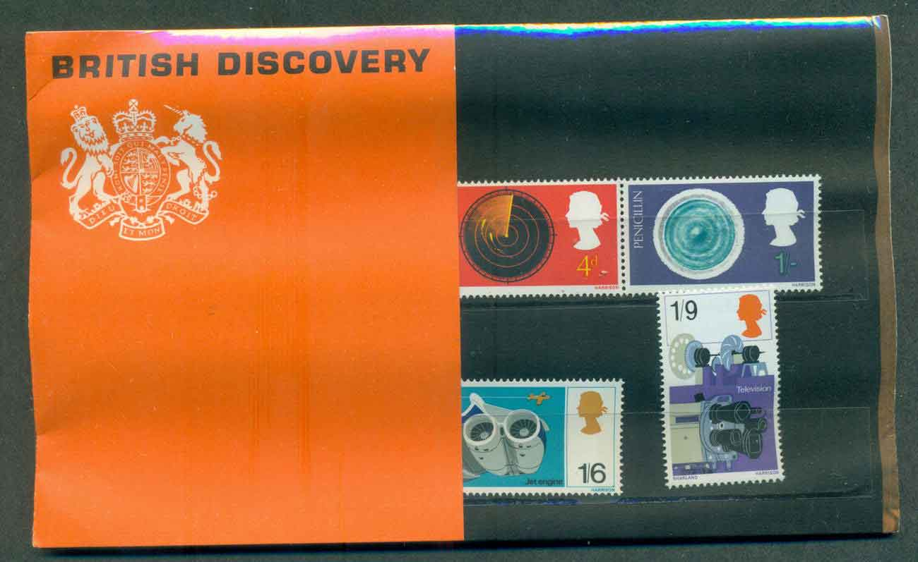 GB 1967 Discoveries POP lot51744